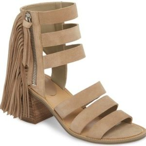 Marc Fisher LTD – Collin Fringe Sandal 9